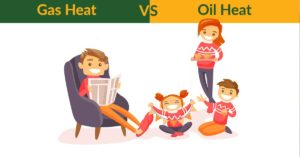 gas heat vs oil heat