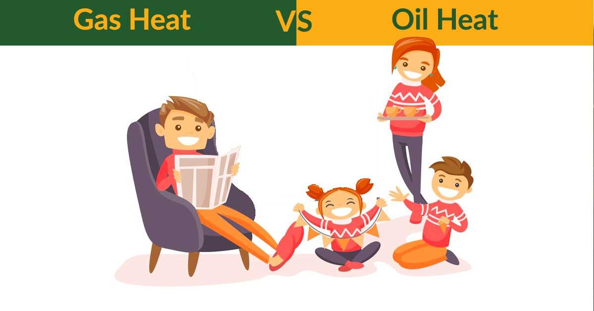 gas heat vs oil heat
