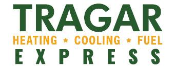 The Tragar Express company logo.