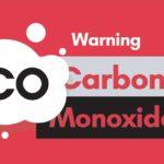 A warning sign for carbon monoxide