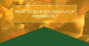 what to do when out of oil