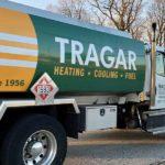 A Tragar tanker oil truck